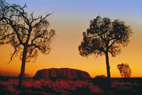 Uluru  is also known as Ayers Rock